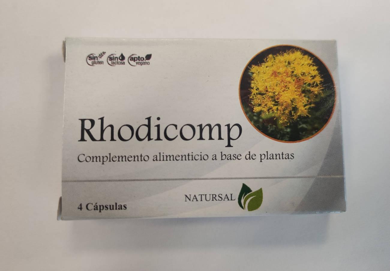"""Ordenan la retirada del supuesto """"complemento alimenticio"""" Rhodicomp por tener sustancias farmacológicas"""