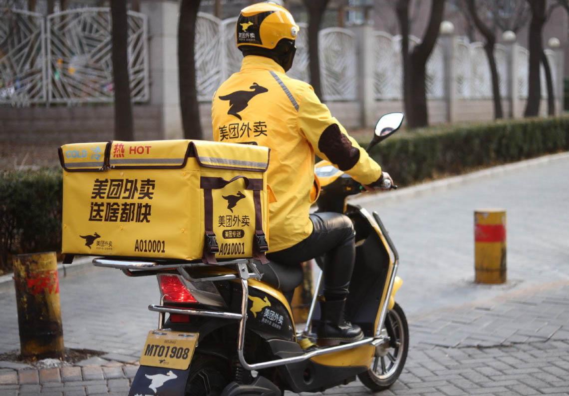 China multa con 461 millones a la empresa de comida a domicilio Meituan por abuso de posición dominante