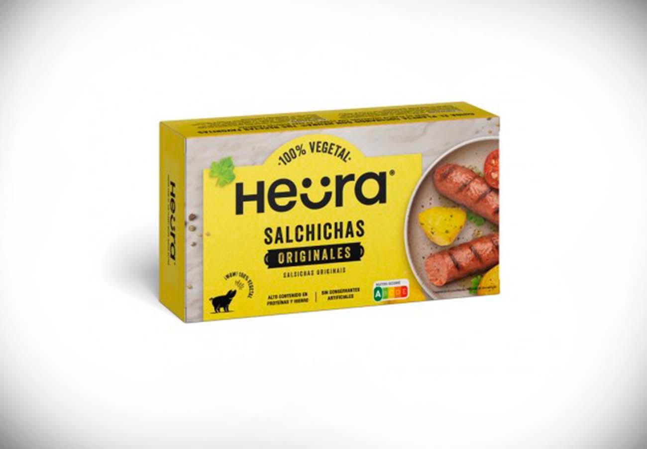 Alertan de la presencia de gluten no declarado en salchichas vegetales marca Heüra