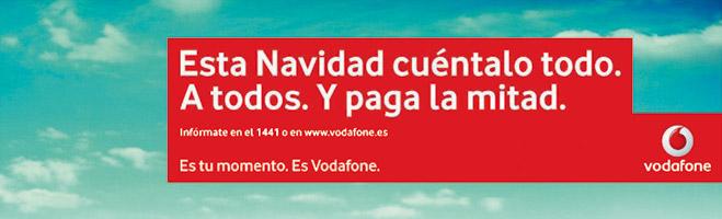 FACUA denuncia que la campaña navideña de Vodafone es un fraude a los consumidores
