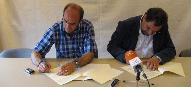 Firmado un convenio de colaboraci�n entre CCOO y FACUA Sevilla