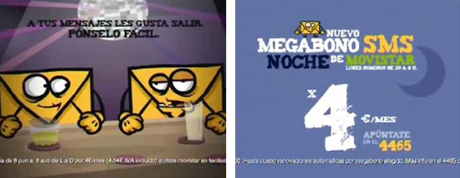 """Movistar oferta """"todos los mensajes que quieras"""" por """"4 euros al mes"""" ocultando que no incluye los SMS a otras compañías"""