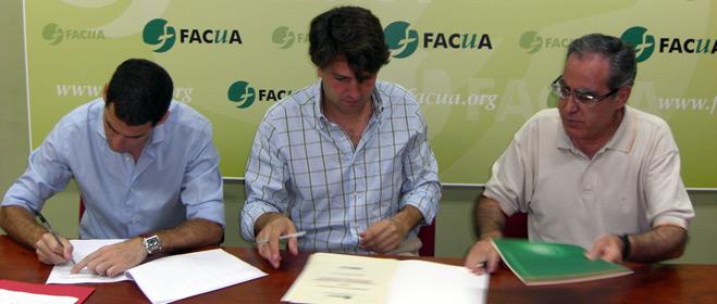 FACUA Andalucía y Bogaris Retail firman un convenio de concertación