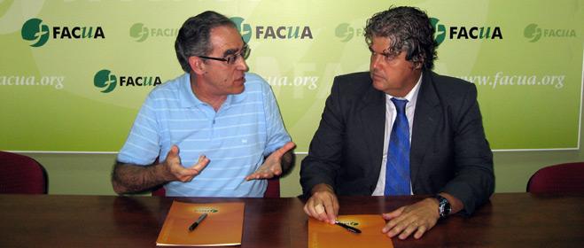 FACUA e Ivesur firman un convenio de colaboraci�n