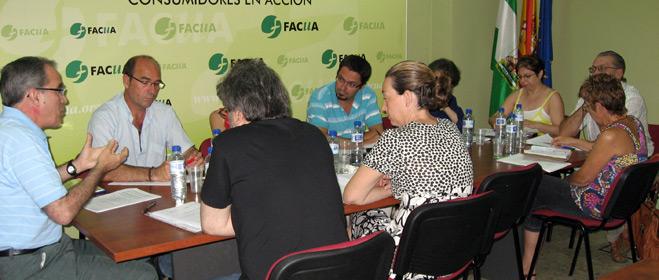 FACUA Andalucía celebra la Reunión de Presidentes de sus asociaciones provinciales