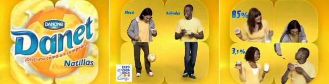 FACUA reclama a Danone que retire la publicidad de sus natillas protagonizada por Robinho, Messi y sus madres