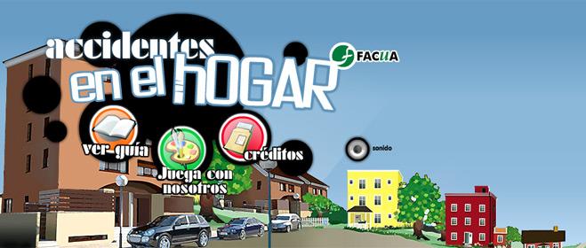 FACUA lanza una 'web' para que los niños aprendan a identificar los peligros en el hogar