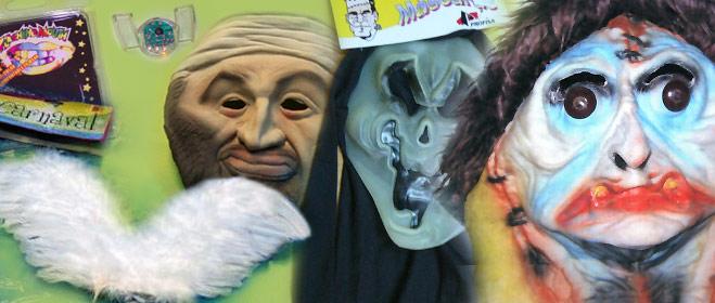 Ordenan la retirada del mercado de 28 máscaras, pelucas y disfraces inseguros