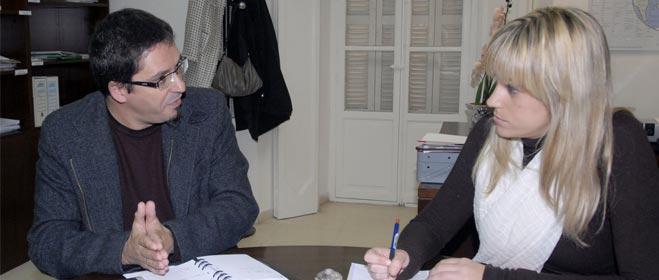 El presidente de FACUA Cádiz se reúne con la Diputada provincial de Consumo