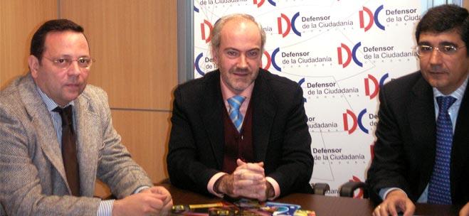 FACUA Córdoba se reúne con el Defensor de la Ciudadanía