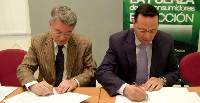 FACUA Córdoba firma un convenio de colaboración con el Colegio Oficial de Arquitectos de la provincia