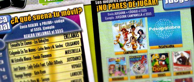 FACUA denuncia a 11 compa��as de servicios de contenidos para m�viles
