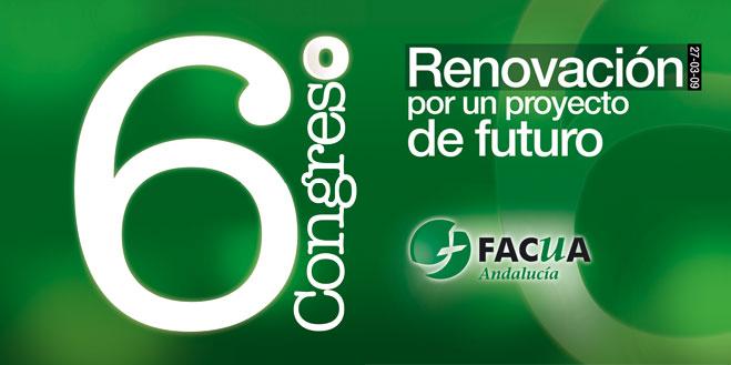 FACUA Andalucía celebra este viernes su 6º Congreso con el lema 'Renovación por un proyecto de futuro'