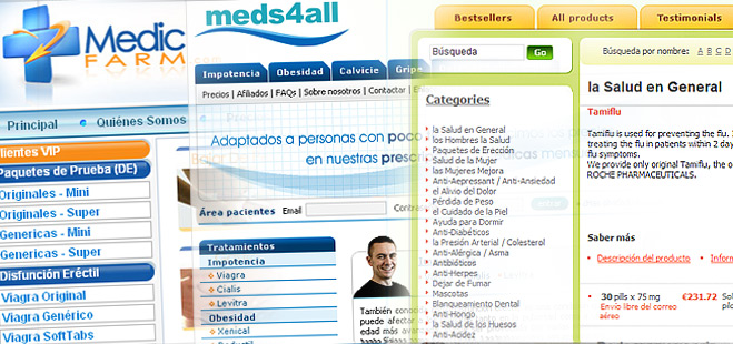 FACUA denuncia 27 p�ginas 'web' que venden ilegalmente medicamentos en Espa�a