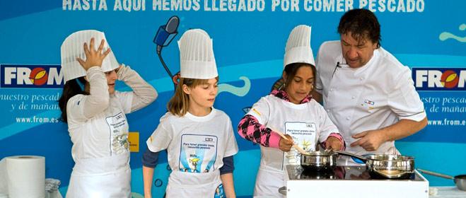 El FROM crea una radio para niños para incentivar el consumo de pescado