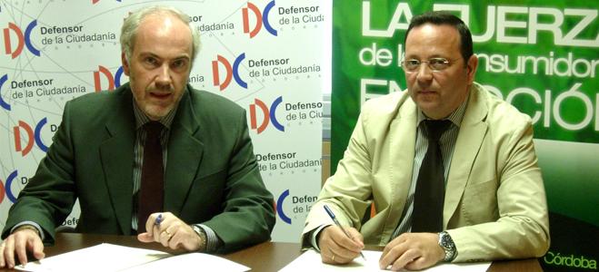 FACUA Córdoba y la Oficina del Defensor de la Ciudadanía firman un acuerdo de colaboración