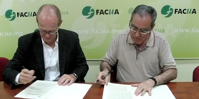 FACUA y la Federación Estatal de Centros de Enseñanza de Idiomas firman un convenio de colaboración