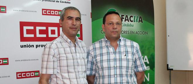FACUA y CCOO de Córdoba presentan la campaña 'Defiende tus derechos'