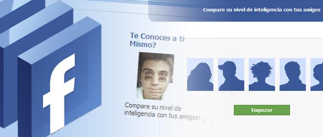 Un 'test de inteligencia' anunciado en Facebook, trampa para dar de alta a los usuarios en un servicio de contenidos para móviles