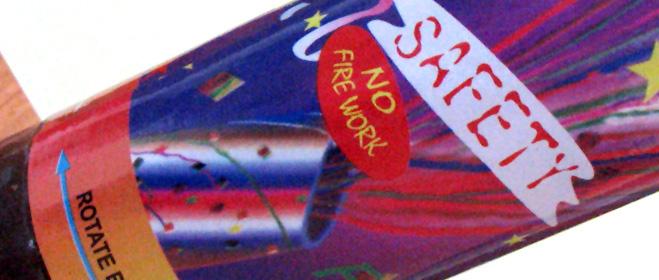 FACUA denuncia varios modelos de lanzadores de confeti por riesgo de lesiones