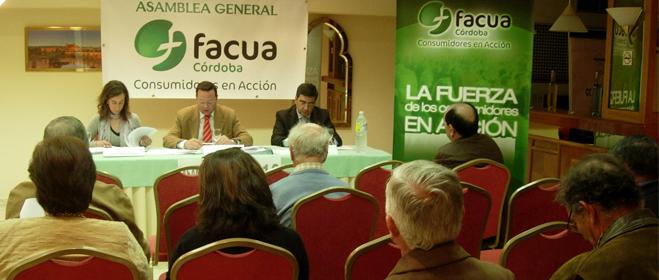 FACUA C�rdoba ha celebrado su XXII Asamblea General de Socios