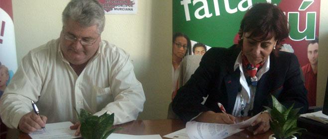 Consumur y la Asociación de Trabajadores de la Región de Murcia firman un convenio de colaboración