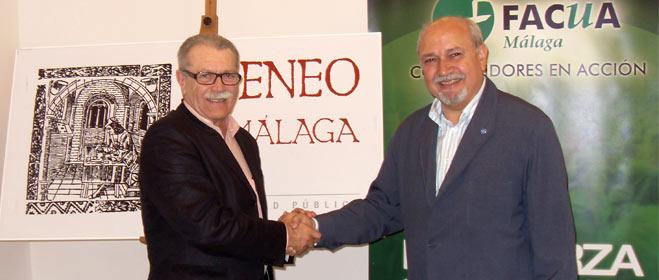 FACUA Málaga y el Ateneo de la ciudad han firmado un convenio de colaboración