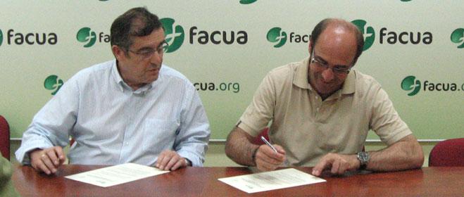 FACUA Sevilla y la Asociación Provincial de Oficinas de Farmacia de Sevilla firman un convenio de colaboración