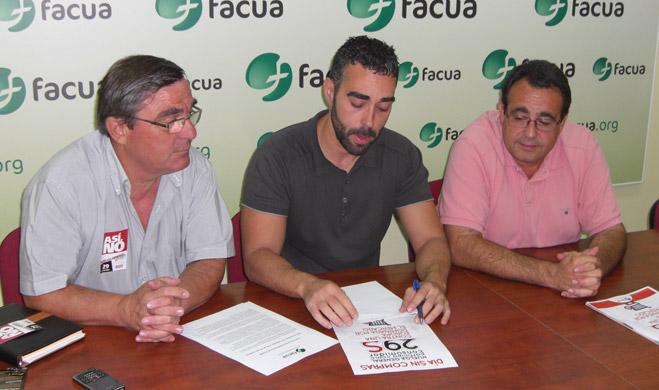 CCOO y UGT de Sevilla llaman a los ciudadanos a que secunden el Día sin Compras promovido por FACUA en apoyo a la huelga general
