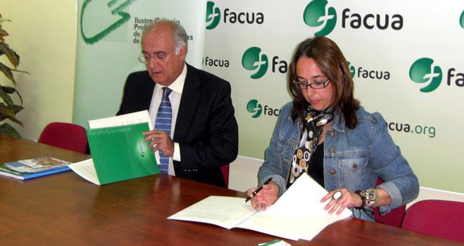 FACUA Andalucía y el Colegio Profesional de Fisioterapeutas de Andalucía firman un convenio de colaboración