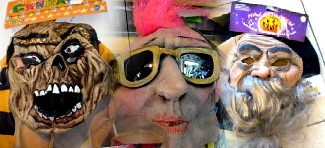 FACUA advierte de la retirada de seis máscaras y doce disfraces por las autoridades de Consumo