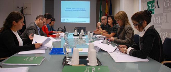 FACUA Andaluc�a participa en una reuni�n del Consejo Audiovisual sobre la legibilidad de mensajes publicitarios