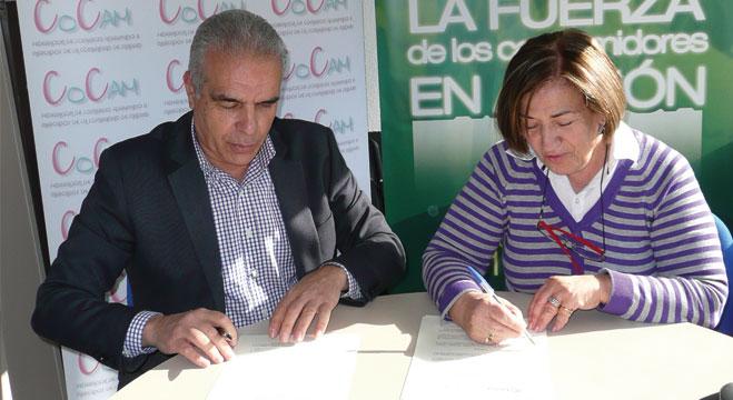 FACUA Madrid y la Federación de Comercio Agrupado y Mercados de la Comunidad de Madrid firman un convenio de colaboración