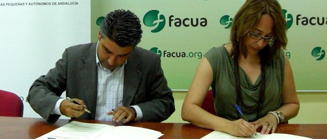 FACUA Andalucía firma un convenio con la Confederación de Empresas Pequeñas y Autónomos de Andalucía