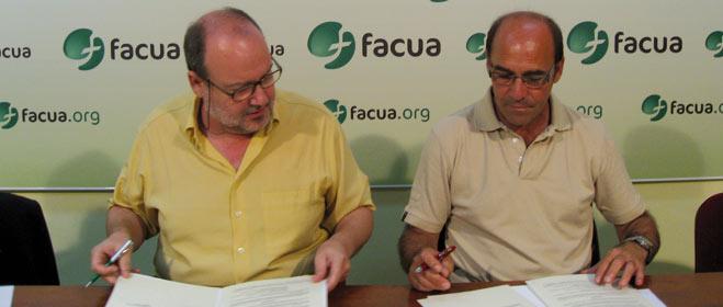 FACUA Sevilla firma un convenio con la Federación Provincial de Asociaciones de Madres y Padres del Alumnado