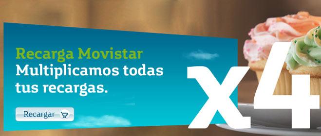 FACUA denuncia a Movistar por publicidad engañosa de su recarga X4