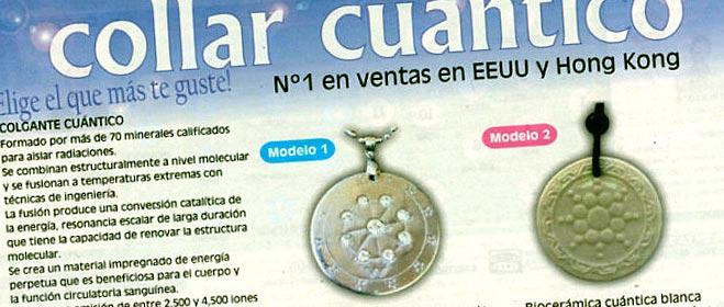 FACUA denuncia el collar cuántico ante las autoridades sanitarias, el último fraude en productos seudomilagrosos para la salud