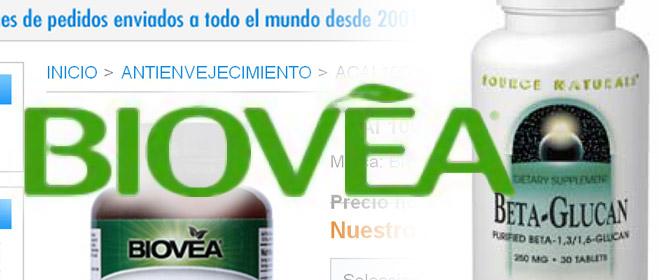 Biovea, denunciada por FACUA por vender productos seudomilagrosos con los que asegura prevenir o tratar el cáncer y el VIH