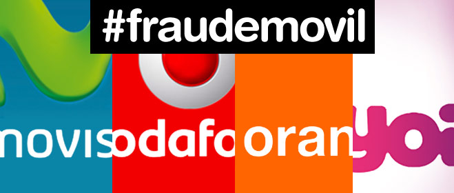 FACUA denuncia a Movistar, Vodafone, Orange y Yoigo por sabotear sus terminales para que no puedan usarse con la competencia