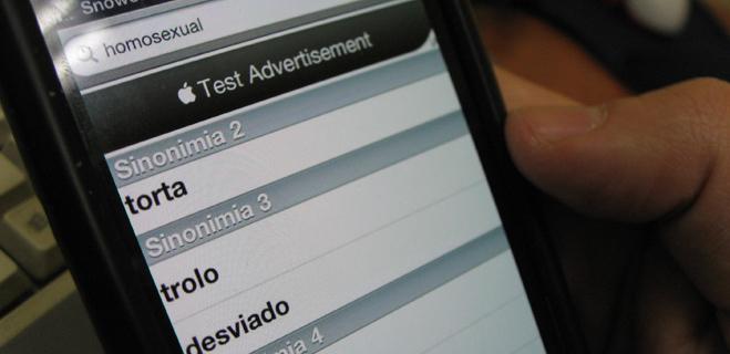 FACUA denuncia que una app para iPhone y iPad describe como 'desviados' a los homosexuales