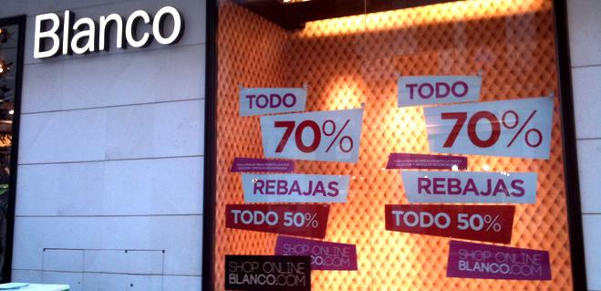 Pretenden imponer a una tienda Blanco una 'micromulta' de 300 euros... destacando que la cuantía es por pertenecer a una gran cadena