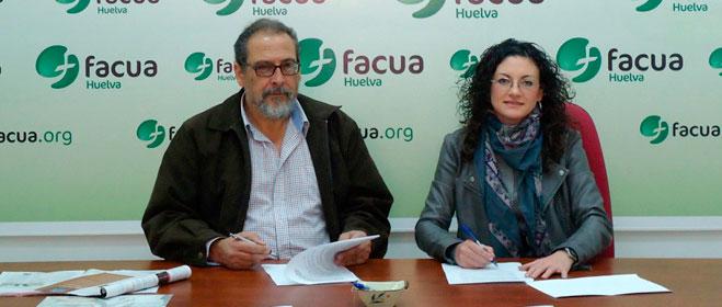 FACUA Huelva y el Ayuntamiento de Paterna del Campo firman un convenio de colaboración