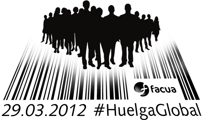 FACUA llama a los consumidores a secundar la #HuelgaGlobal evitando comprar y contratar durante el 29M