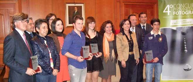FACUA Córdoba entrega los premios del IV Concurso Provincial de Fotografía para Estudiantes