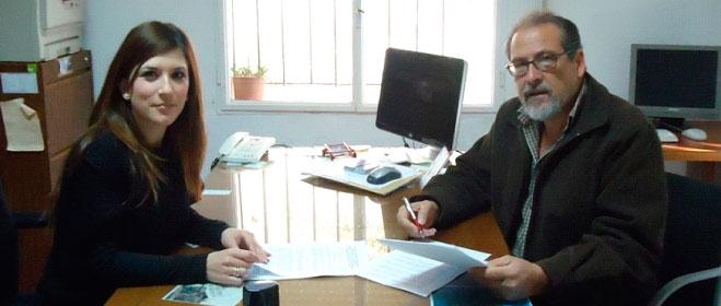 FACUA Huelva suscribe un convenio con el Ayuntamiento de Campofrío