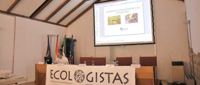 FACUA Jaén participa en unas jornadas sobre soberanía alimentaria y transgénicos en Andalucía