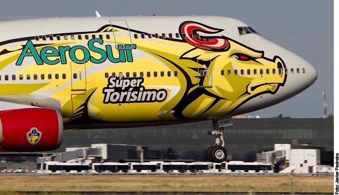 FACUA recomienda reclamar ante el cese de operaciones de la compañía boliviana Aerosur