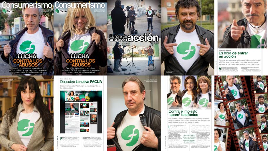 FACUA lanza un n�mero especial de la revista 'Consumerismo' dedicado a la 'Lucha contra los abusos'