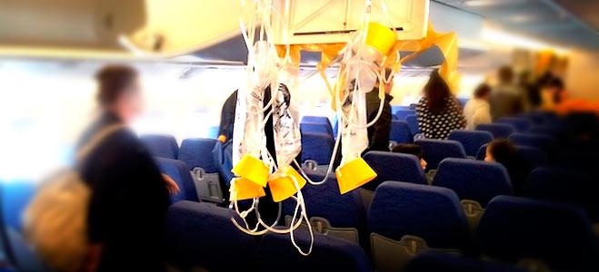 Segundo caso de despresurización de cabina en un vuelo de Ryanair en unos días