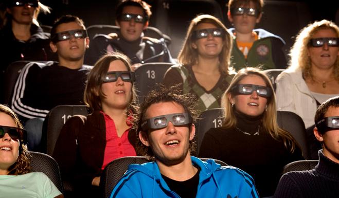 Ver cine en 3D es un 30% más caro, según el último estudio de FACUA